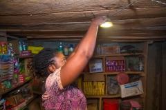 SHS beneficiary: Mrs. Emelda Jude, a merchant at Kofan Gwari, Kokona LGA