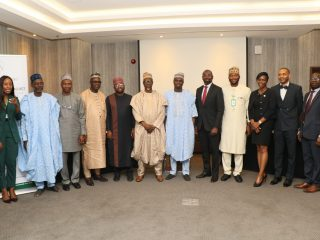 Senior Management from AfDB, REA and the Office of the Vice President at the NEP-AfDB Project Launch in Abuja