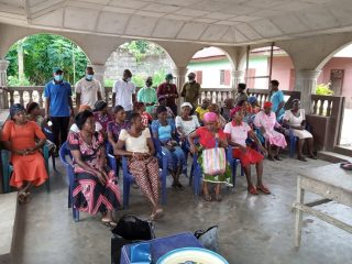FGD with women group in Egbeke Community, Rivers State