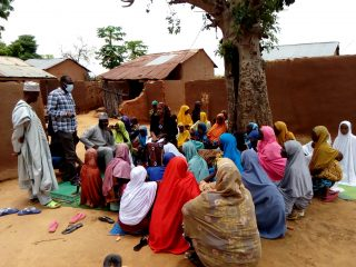FGD with women in Dakiti Gombe