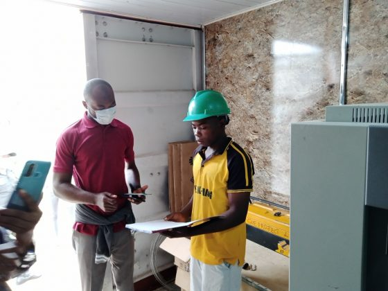 Survey with Site representative, Shimankar Plateau State